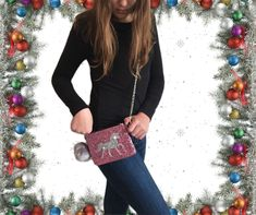 Unicorn glitter cross body purse for little girls, toddlers and tweens, a unique gift purse for grandaughter by Bstarshop on Etsy Unique Christmas Gifts, Unique Gifts, Great Gifts, Unicorn And Glitter, Silver Glitter, Small Crossbody Purse, Toddler Girl, Toddlers, Little Girls