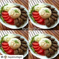 👉👉 👉👉takip ediniz 👉👉 🍃🍅 S. Cooking Recipes, Healthy Recipes, Food Decoration, Food Platters, Turkish Recipes, Dinner Dishes, Food Presentation, Food Design, Food Plating