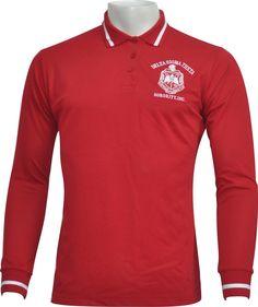 Delta sigma Theta polo shirt Delta Sigma Theta, Alpha Delta, Greek Gear, Cancer Awareness Shirts, Long Sleeve Polo, Cardigans For Women, Sorority, Dallas, Polo Shirt