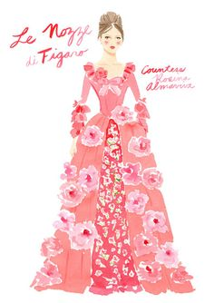 Deborah Lloyd for Kate Spade / Countess Rosina Almaviva from The Marriage of Figaro