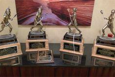 2012 Utah Lacrosse Championship Trophies