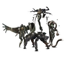 Beauty and the Beast Unit Laughing Octopus, Raging Raven, Crying Wolf and Screaming Mantis