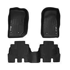 MAXFLOORMAT Floor Mats for Jeep Wrangler Unlimited 20142017 Complete Set Black -- Read more at the affiliate link Amazon.com on image.