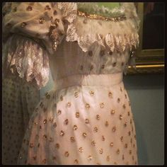 #gold #sparkle #polkadots and #ruffles - bliss #fashion @v&a