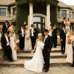 Hollywood Glamour - Vineyard Chic Wedding hats!!!