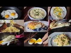 top 10 breakfast recipes - Creative Recipes Using Just An Egg   YouTube