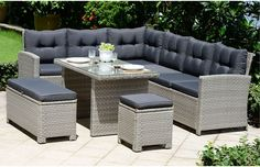 Browse Our Range Of Garden Rattan Lounge Sets And Dining For Delivery Within Working Days Including Deliveries To Scotland