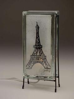 Glowblocks© /Eiffel tower glass block lamp.jpg