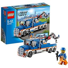 LEGO City Great Vehicles Tow Truck *** Find out more about the great product at the image link. (This is an affiliate link) Lego City Police, Lego Truck, Tow Truck, Cheap Lego, Lego For Sale, Micro Lego, Lego City Sets, All Lego, Lego Creator