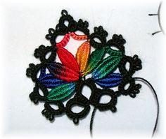 clunies motif beautiful tatting!