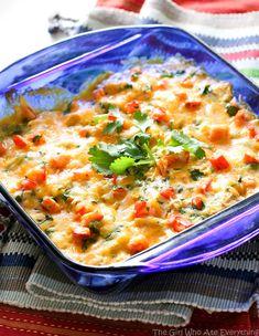 Salsa Verde Enchiladas