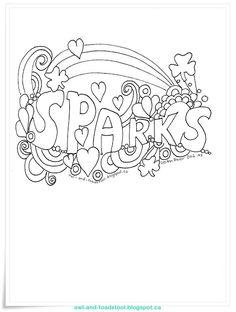 Sparks Doodle by Lee Ann Fraser 2016  http://owl-and-toadstool.blogspot.ca/2016/02/doodle-sparks.html