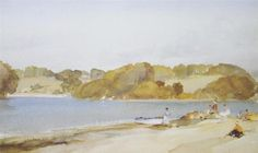Picnic at Turnaware Point Sir William Russell Flint