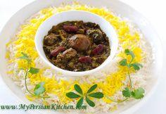 Slow Cooker Ghormeh Sabzi ~ Persian Herb Stew - My Persian Kitchen