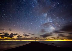 Photo by Cale Best. Point Pele is the only place in Canada where it's possible to see the Omega Centauri globular star cluster. But at this time of year, you need to be up around 3 to 4 a.m. local time to see it.
