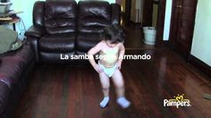Pampers Disposable Diapers - The Dry Dance - Spanish Version - Commercial - 2013 http://www.pampers.com/globalsplash