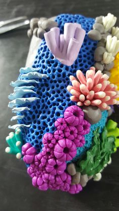 My repost :: Almost done with my coral reef http://ift.tt/2oaPSbp . how to make your own #crafts follow @cutephonecases
