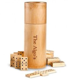 Gift Idea: Bamboo Dominoes Gift Set