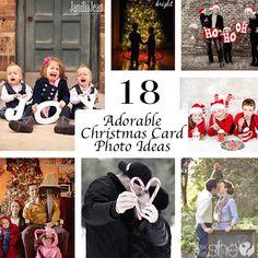 18 Adorable Christmas Card Photo Ideas howdoesshe.com