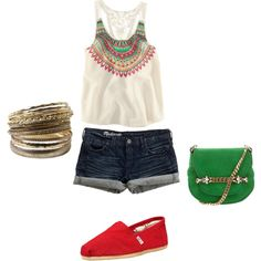Any Summer Day, created by kyracoleman on Polyvore