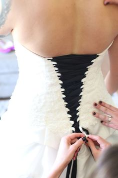 I totally wish I could give this bride a hug and thank her for this idea! AWESOME!