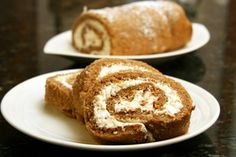 Awesome Sweet Potato Cake Roll with Cream Cheese Coconut Filling