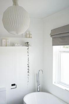 Mental wellbeing, my home and me: Hali Mason's bright, minimalist home - minimalist bathroom - white bathroom