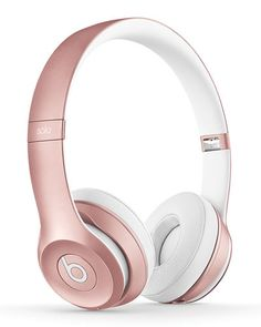 Beats Wireless On-Ear Headphones - Apple Headphone Chip, Class 1 Bluetooth, 40 Hours Of Listening Time - Rose Gold (Previous Model) Cute Headphones, Wireless Headphones, Bluetooth Speakers, Beats Bluetooth, Running Headphones, Beats By Dre, Musik Player, Accessoires Iphone, Notebooks
