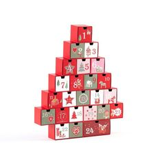 Cubes, 9 And 10, Decoration, Holiday Decor, Christmas, Products, White Style, Advent Calendar, Parts Of The Mass