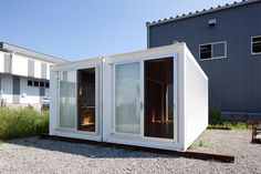yasutaka yoshimura architects: ex container project, anywhere, japan