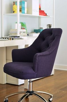 Purple Executive Chair Omma Inspire Bureau Shabby Chic Pinterest Office Chairs Ideas And Decor