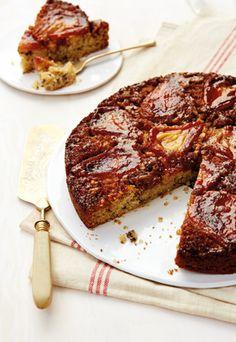 Farmer's Snack: Karamellisierter Birnen-Kuchen