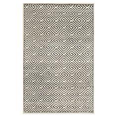 Found it at Wayfair - Mosaic Ivory & Grey Geometric 5' x 8' Rug