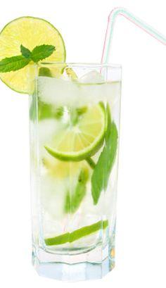 Eau de citron, menthe et lime