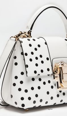 Dolce & Gabbana leather purses and handbags Handbags On Sale, Luxury Handbags, Purses And Handbags, Designer Handbags, Dots Fashion, Fashion Bags, Leather Purses, Leather Handbags, Leather Bag