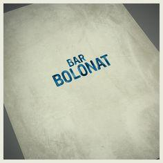 Behance :: Editing BAR BOLONAT IDENTITY