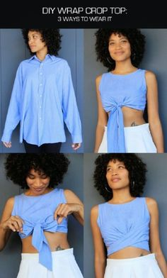 Transform Your Shirts For Summer (3)