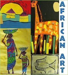 48 Ideas African Art Projects Lesson Plans For Kids African Art For Kids, African Art Projects, African Crafts, African American Art, Group Art Projects, Clay Art Projects, Special Needs Art, Concept Art Tutorial, Africa Art