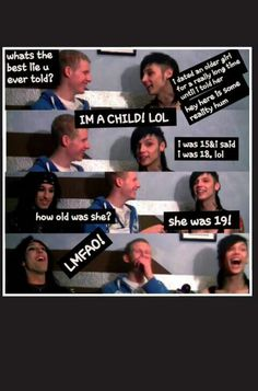 Omg Andy's face on the last one xD