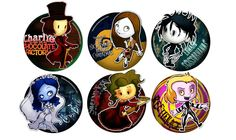 Tim Burton Tributes by ^Thiefoworld on deviantART