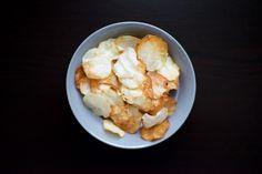 "Baked ""No-tato"" (Eddo/Taro) Potato Chips Recipe by @vahuntergather [paleo, primal, gluten-free]"