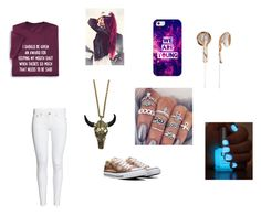 """Untitled #707"" by girlwithnoluck ❤ liked on Polyvore featuring Converse, Casetify, Frends and Zara Taylor"