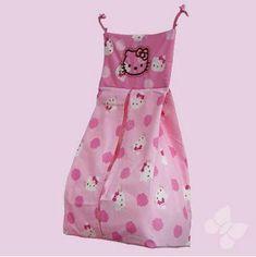 Portapañales Hello Kitty Caramelo en Color Rosa