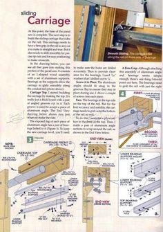 Panel Saw Plans - Circular Saw Tips, Jigs and Fixtures - Woodwork, Woodworking, Woodworking Plans, Woodworking Projects Wood Shop Projects, Woodworking Projects Diy, Woodworking Plans, Fishing Rod Rack, Panel Saw, Wooden Toy Boxes, Skill Saw, Shop Layout, Shop Plans
