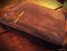 Keep a Bible in the room for guest who forgot to bring one or for those who do not know Him.