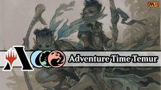 Late Night Adventure Time | Temur Adventure | MTG Arena Core Set M21