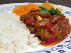 Old clothes/Ropa Vieja.  A delicious Panamanian recipe!  you will love it :)