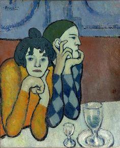 Pablo Picasso, i saltimbanchi - 1901