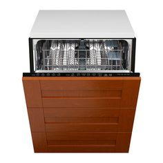 RENLIG Integrated dishwasher with 3 fronts IKEA