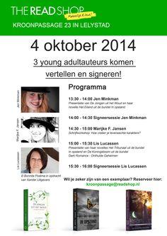 Schrijfworkshop op 4-10 in Lelystad. Wie komt er?